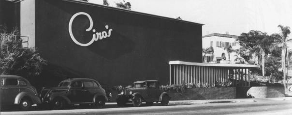1941, Ciro's Nightclub
