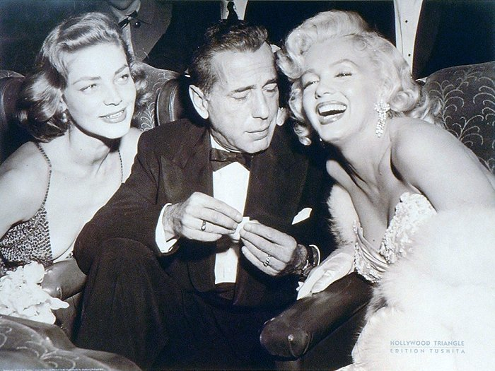 Humphrey bogart jess waid for Lauren bacall and humphrey bogart age difference