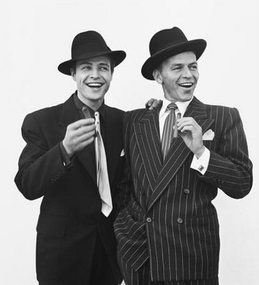 Sinatra with Marlon Brando in Guys & Dolls