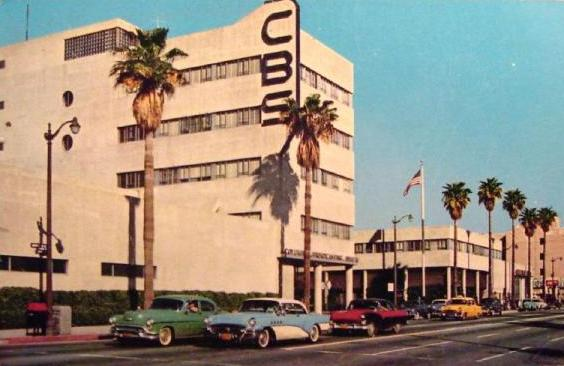 The CBS Building, located on Columbia Square in Hollywood.