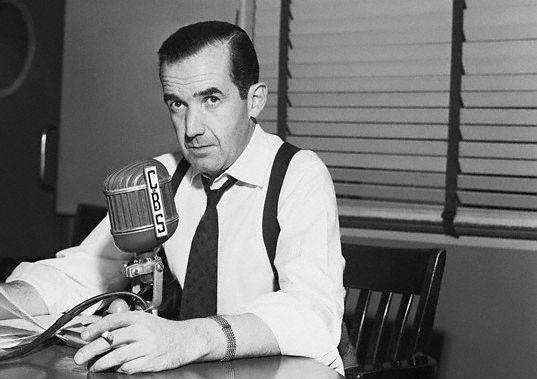 The legendary Edward R. Murrow